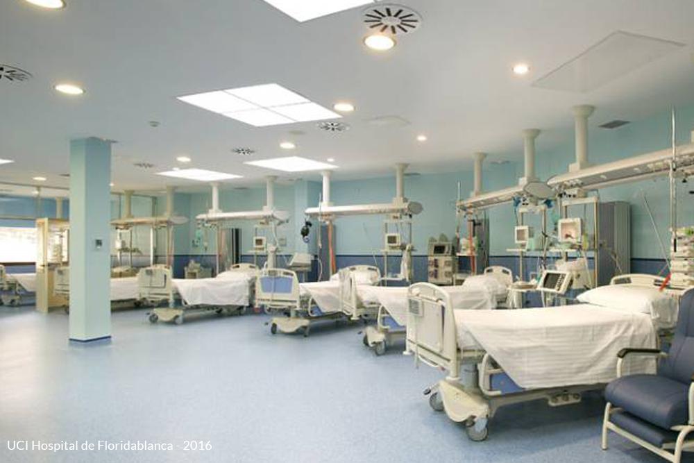 UCI del hospital de floridablanca