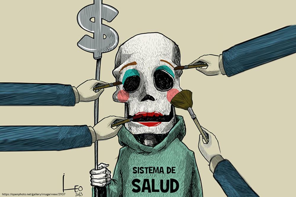 leo caricatura, reforma salud