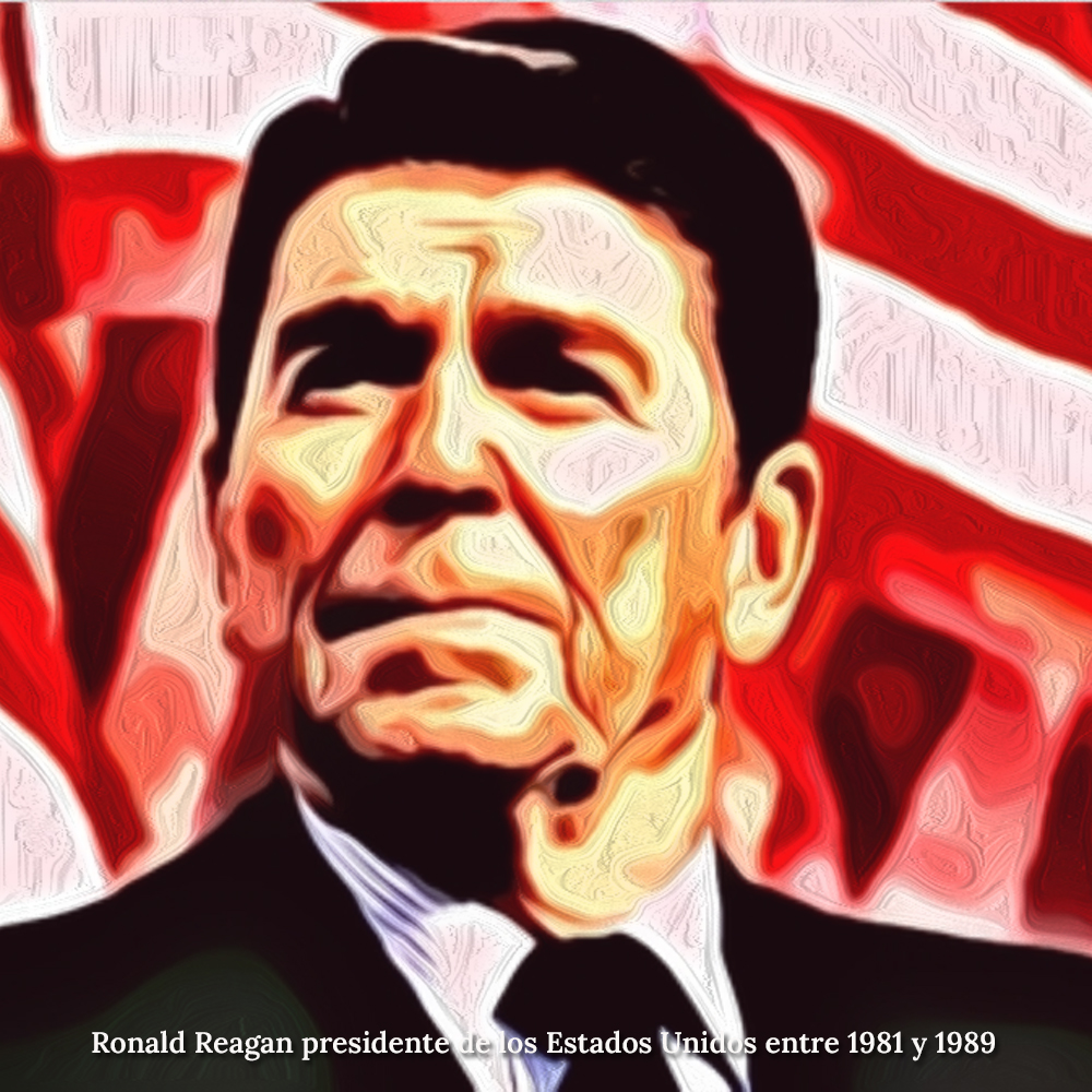 En su época de actor, Reagan trabajó para las compañías de seguros e hizo una campaña publicitaria en contra de establecer un sistema nacional de salud en Estados Unidos.