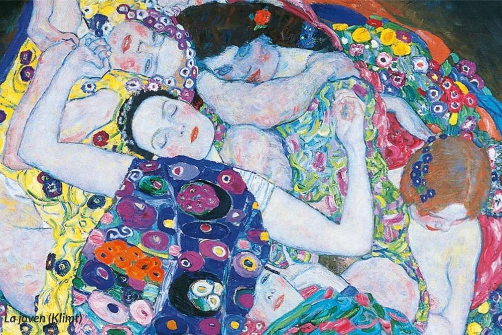 La joven (Klimt)